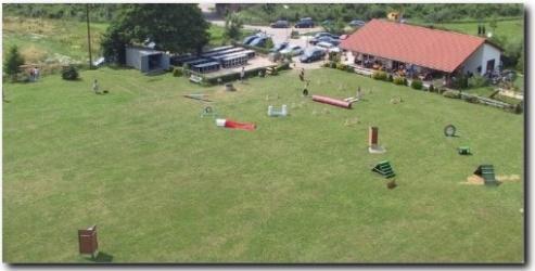 Vereinsheim-Luftaufnahme